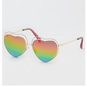 AE Rainbow Heart Sunglasses